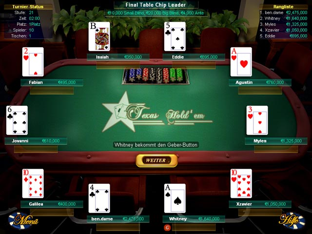 kostenlos texas holdem download