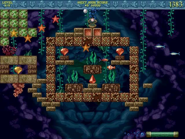 English version of Bricks of Atlantis. Бесплатные скачиваемые игры компани