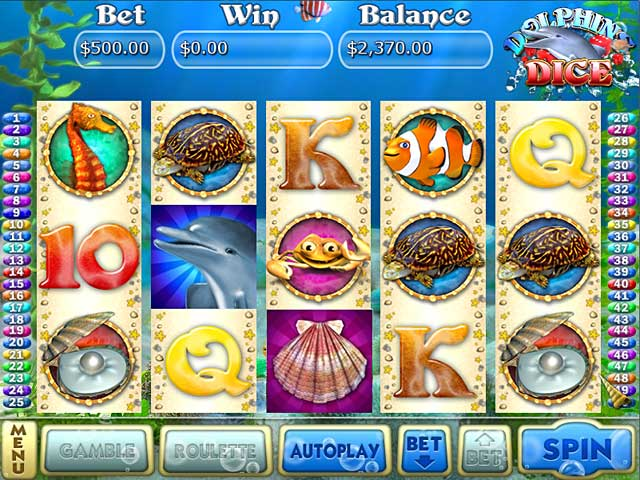 Play Free Dolphins Dice Slots Online Game | 1000 Games