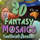 Fantasy Mosaics 20: Castle of Puzzles spel