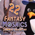 Downloadable PC games - Fantasy Mosaics 22: Summer Vacation