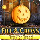 Fill And Cross. Trick Or Threat