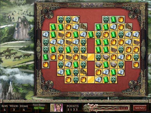 Play free jewel quest the sapphire dragon online game 1000 games