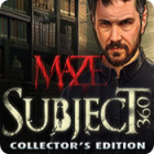 New PC game - Maze: Subject 360 Collector's Edition