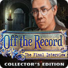 Download free game PC - Off the Record: The Final Interview Collector's Edition