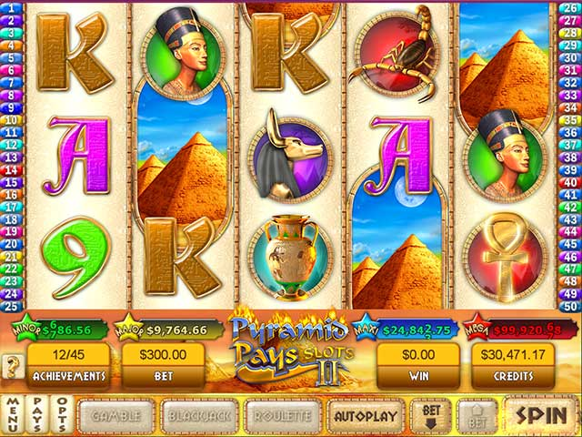 Pyramid Pays Slots II crack