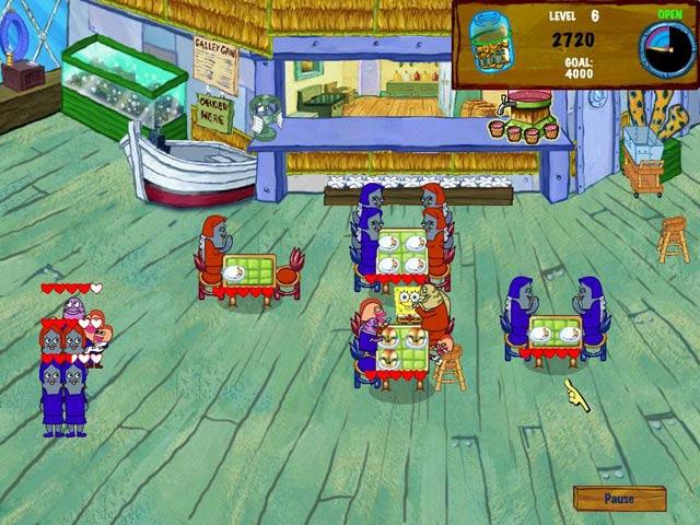 SpongeBob SquarePants Diner Dash 2