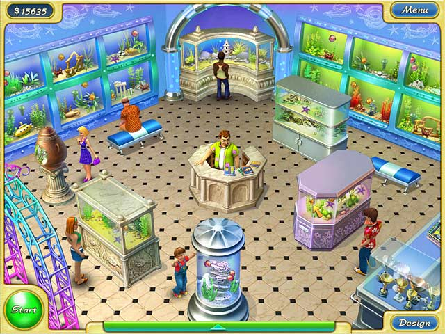 Free full pc and mac casual games for download match 3 for Fish and more pet store