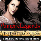 Ilmaiset pelit Vampire Legends: The True Story of Kisilova Collectors Edition nettipeli