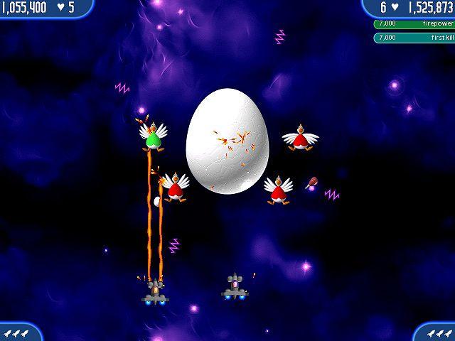 Gra Chicken Invaders 2 po polsku