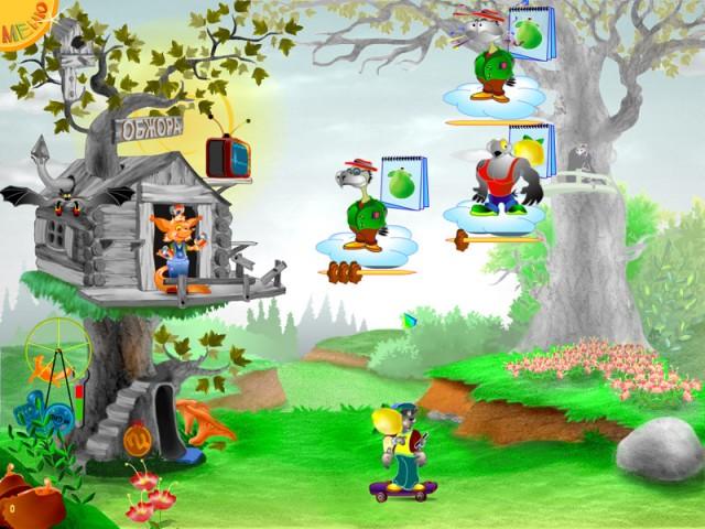 Скриншот к игре Голодные Вороны 2. главная страница мини игр симуляторов. и