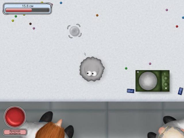 Скриншот 3 - Помогите Глазастику съесть все вокруг и вырасти больше галакти